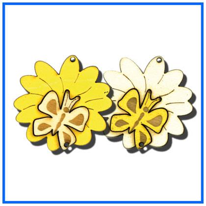 BlumeSchmetterling-1162gelb-